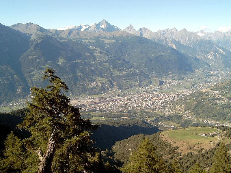 Alpes depuis Aoste