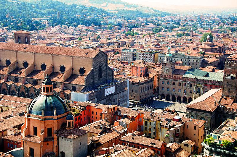 Bologne en Italie