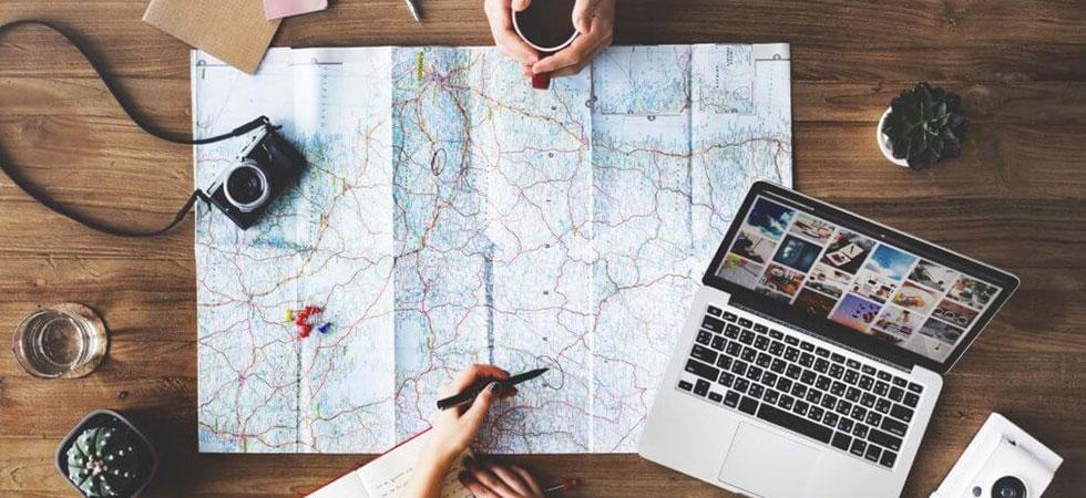 preparer son voyage sur internet